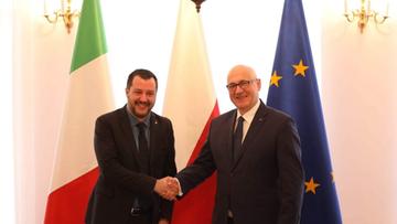 Chwalił Putina, dziękował Polsce - kim jest Matteo Salvini