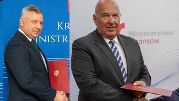 Tadeusz Kościński i Piotr Dziedzic zostali wiceministrami finansów