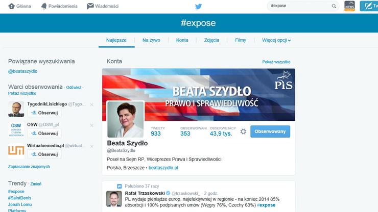 """Twitter komentuje expose Beaty Szydło. """"PiS uwierzyło, że złoty pociąg w Walbrzychu naprawdę jest pełen skarbów"""""""