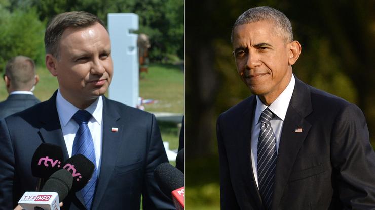 """Spotkanie Duda-Obama. """"Spodziewamy się długiej i treściwej rozmowy"""""""