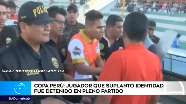 Kuriozum w Peru. Piłkarz aresztowany… w trakcie meczu (WIDEO)