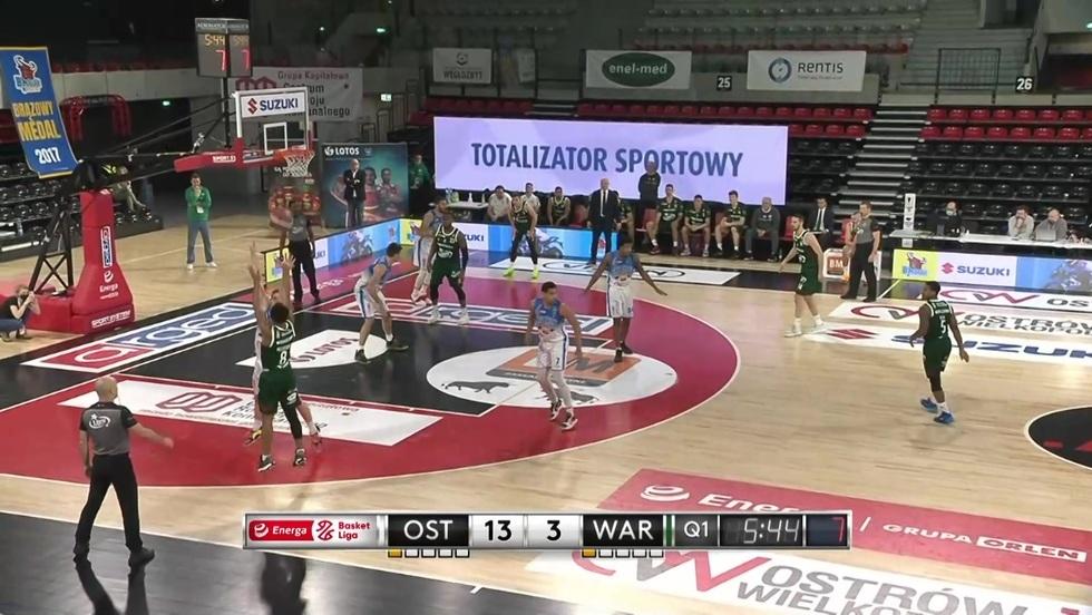 Arged BMSlam Stal Ostrów Wlkp. - Legia Warszawa