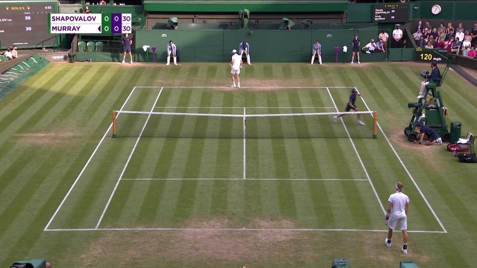 Denis Shapovalov - Andy Murray