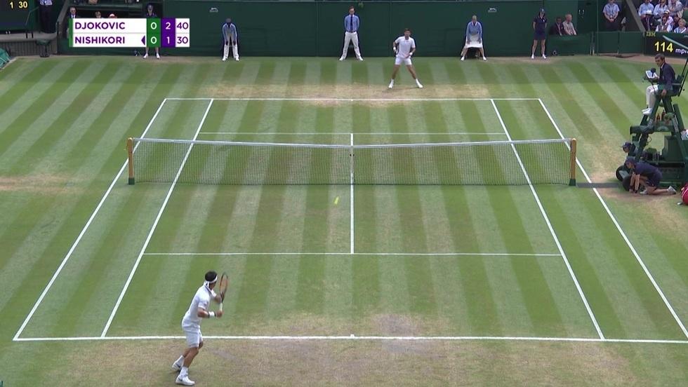 Novak Djokovic - Kei Nishikori