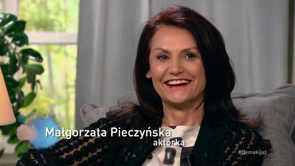 Demakijaż - Małgorzata Pieczyńska