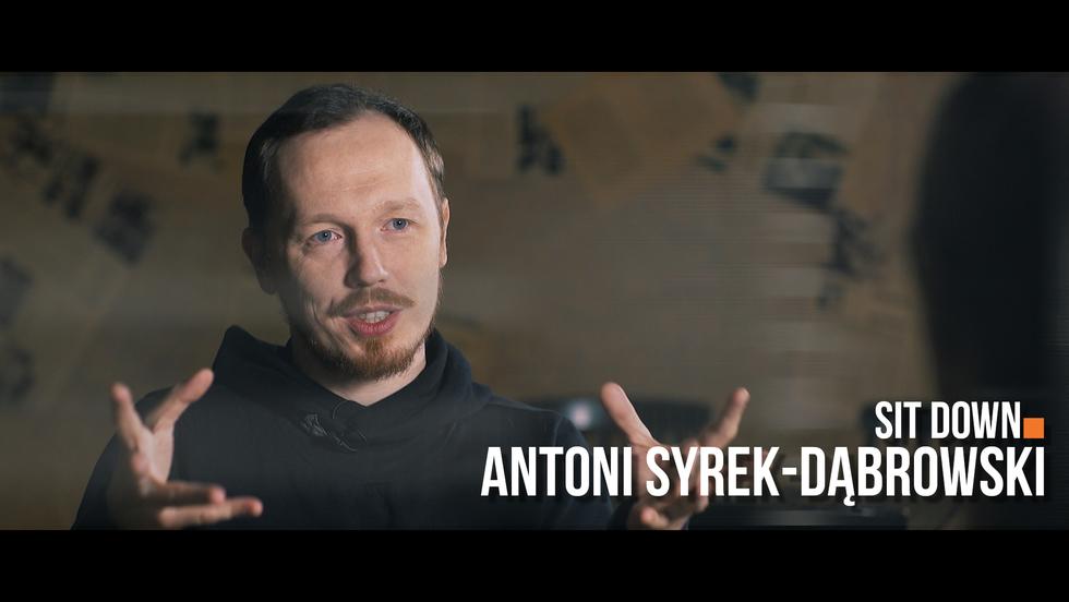 Sit down. Rozmowy o stand-upie #2 Antoni Syrek-Dąbrowski