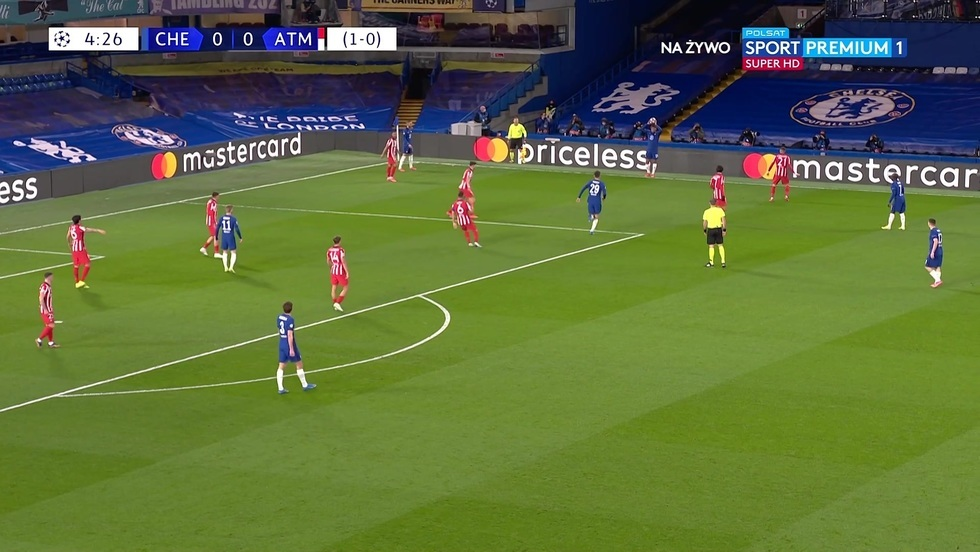 Chelsea Londyn - Atletico Madryt