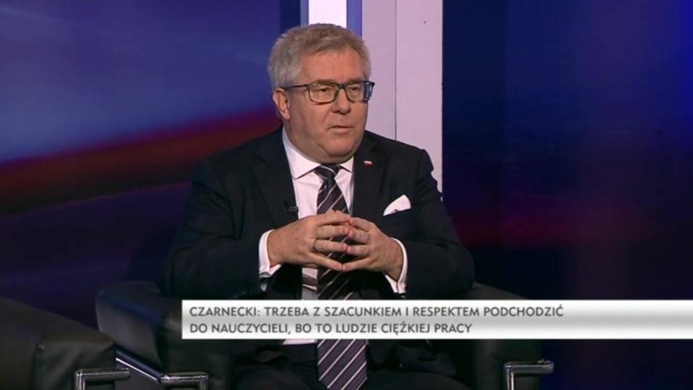 Salon Polityczny - Agnieszka, Ścigaj, Michał Kamiński, Ryszard Czarnecki