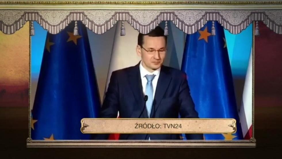 Gilotyna - Wystąpienia premiera Morawieckiego