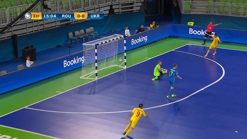 Rumunia - Ukraina, skrót meczu
